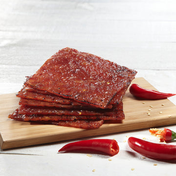 Chilli Bak Kwa (500g) Freshly Grilled 辣椒肉干 (现烤)