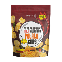 Mala Salted Egg Potato Chips (105g)  麻辣咸蛋薯片