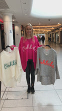 Load and play video in Gallery viewer, Ooh La La Oversized Hi Lo Jumper