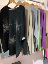 Load image into Gallery viewer, Glitter Stars Jumper