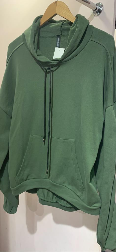 Rouched Arm Hoodie