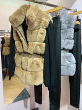 Load image into Gallery viewer, Waisted Faux Fur Gillet