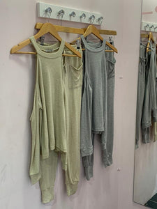 Super Soft Cold Shoulder Pocket Set