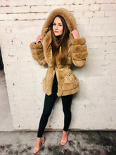 Load image into Gallery viewer, Justine Faux Fur Coat