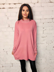 Pearl Trim Jumper