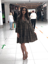 Load image into Gallery viewer, Patterned Boho Dress