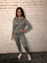 Load image into Gallery viewer, Zip Hoody Jumpsuit