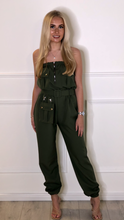 Load image into Gallery viewer, Bardot Belted Jumpsuit