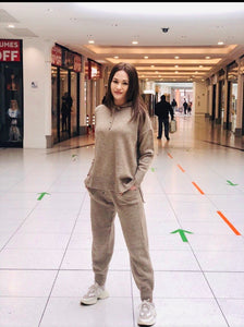 Soft Knit Hooded Suit