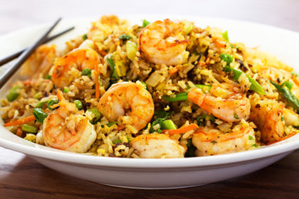 Shrimp Biryani - Andhra Mess Indian Cuisinse