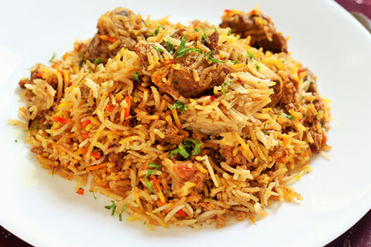 Hyderabadi Mutton Dum Biriyani - Andhra Mess Indian Cuisinse