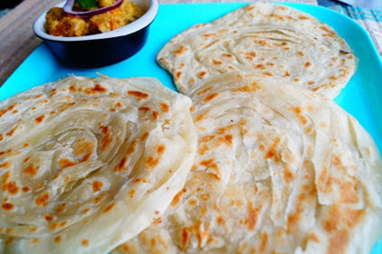 Malabar Parotta (2 pcs) - Andhra Mess Indian Cuisinse