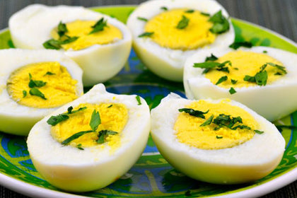 Boiled Egg - Andhra Mess Indian Cuisinse