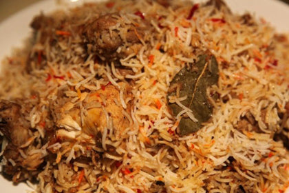 Vijayawada Boneless Chicken Biriyani - Andhra Mess Indian Cuisinse