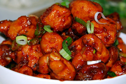 Chicken Manchurian - Andhra Mess Indian Cuisinse