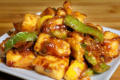 Chilli Paneer - Andhra Mess Indian Cuisinse