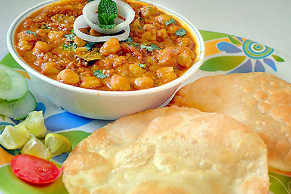 Chole Poori - Andhra Mess Indian Cuisinse