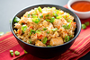 Burnt Chilli Garlic Fried Rice ( Veg / Egg / Chicken / Shrimp ) - Andhra Mess Indian Cuisinse
