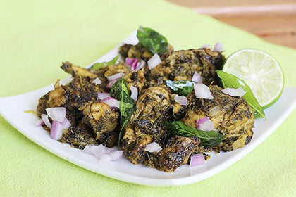 Gongura chicken fry - Andhra Mess Indian Cuisinse