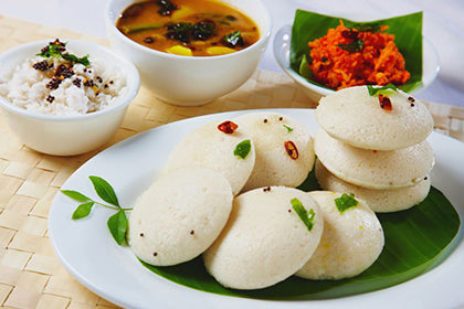 Idli (3 pcs) - Andhra Mess Indian Cuisinse