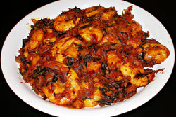 Miriyalu Shrimp - Andhra Mess Indian Cuisinse