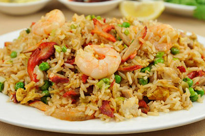 Schezwan Fried Rice(Shrimp) - Andhra Mess Indian Cuisinse