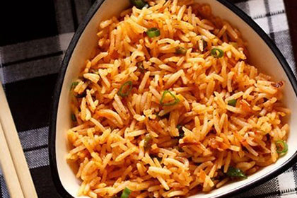 Schezwan Fried Rice(Veg) - Andhra Mess Indian Cuisinse