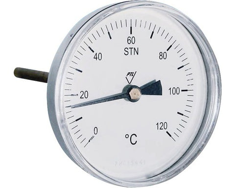 "Watts Thermometer 1/2"" 0-120°"