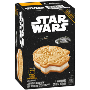 Star Wars Vanilla Ice Cream Sandwich