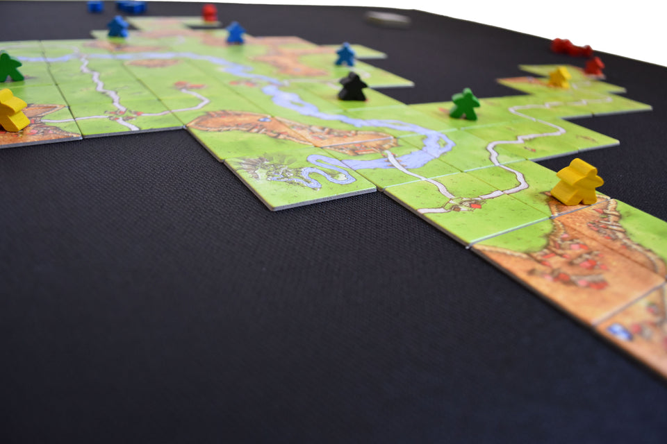Nonslip Board Game Mat Carcassonne Tiles