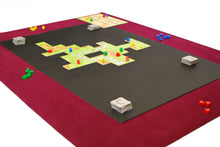 Load image into Gallery viewer, Complete Board Game Mat Set Felt with Nonslip Center  Carcassonne