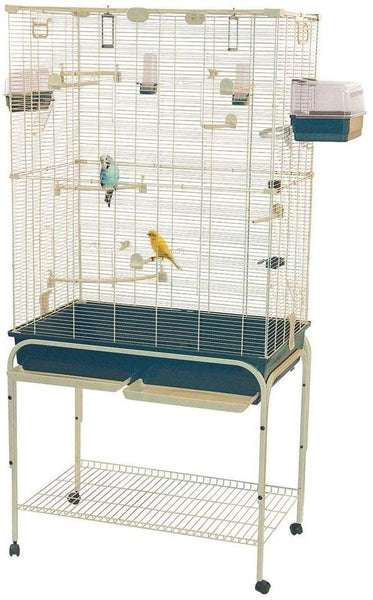 "REFURB - Marchioro 67"" Delfi 82 Large Birdcage Starter Kit Lovebirds Cockatiels"