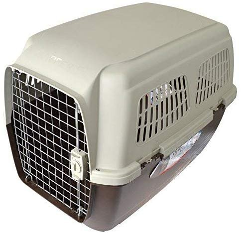 "Marchioro Clipper Cayman Dog Kennel - Beige. Cayman 7 - (41.50"" L x 29.25"" W..."