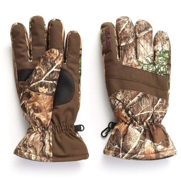 HOT SHOT Women's Camo Defender Glove – Realtree Edge Outdoor Hunting Camouflage