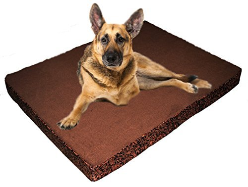30X40 XL Luxury Orthopedic Lounger Pet Bed - Washable Cover / Waterproof Liner