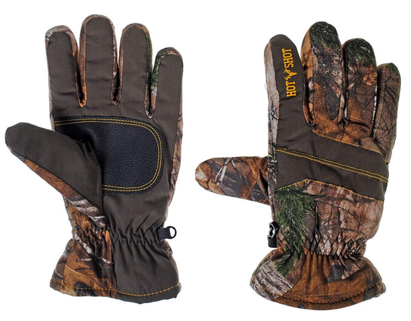 Hot Shot Mens Defender Camo Thinsulate Insulated Hunting Glove