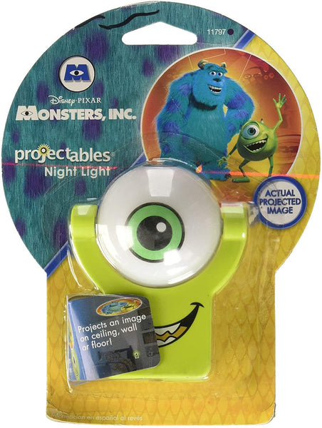 Disney Pixar Monsters, Inc. Projectable LED Night L1ight