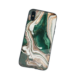 The Marble Matriarch Phone Case in Jade