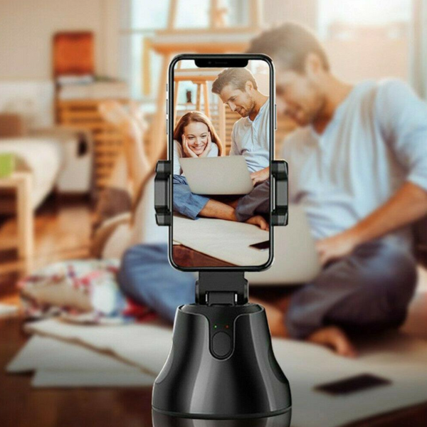 Pro Video Creator: 360 Auto Shoot Rotating Stand