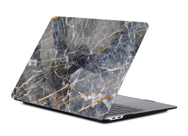 The Creative Type Laptop Cover in Ink Marble
