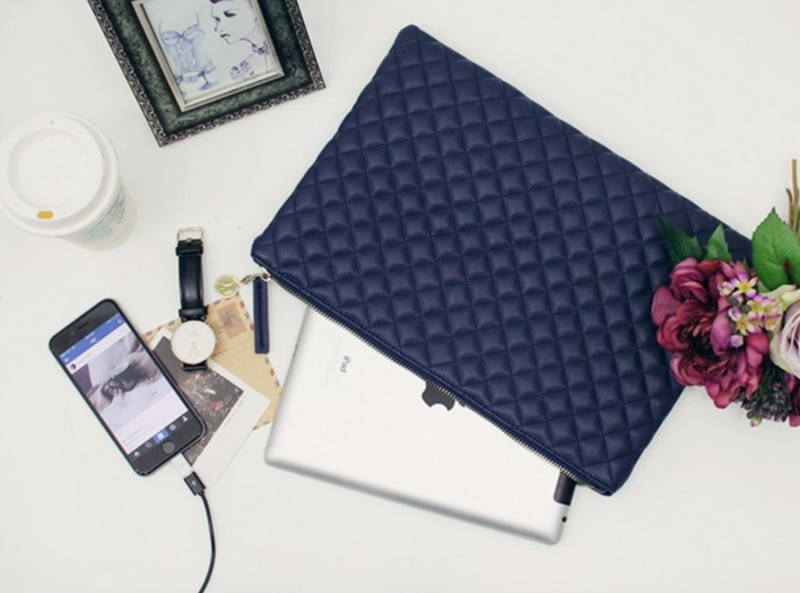 The Deal Maker Tablet & Tech Pouch : Three colors