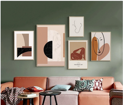 Buy The Wall! Scandinavian Collection Gallery Wall (Five Prints- Unframed)