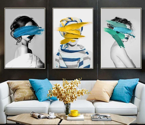 Buy The Wall!  Fashion Collection 1 (Three Prints-Unframed)