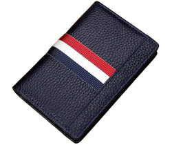 The Trailblazer Navy Business Card Holder