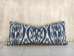 One-of-A-Kind Hand Dyed Silk Pillow Cover 10x24