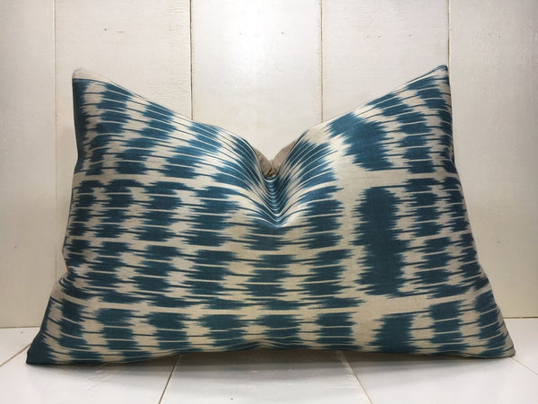 One-of-A-Kind Turkish Silk Pillow Cover 16x24