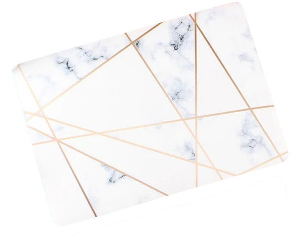 The Fierce Founder Case in Gold Marble
