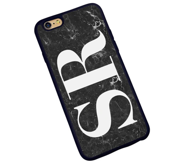 The Decision Maker Initials Phone Cover : Marble