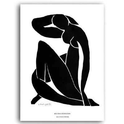 The Editor Collection : Abstract Figure 60x80cm (Unframed)