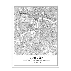 The Global Traveler Collection : London (Unframed)